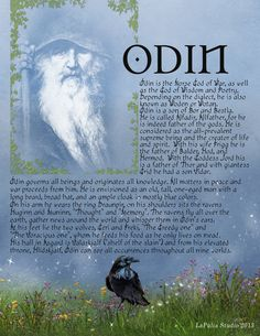 ✨Free Book of Shadows Pages from www.lapuliabookofshadows.com. Odin-pg-1.jpg 1,700×2,200 pixels