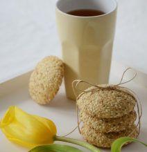 Sezamové keksíky