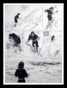 Thorgal, La Galère Noire (T.4), Planche 40 par Grzegorz Rosinski, Jean Van Hamme - Œuvre originale