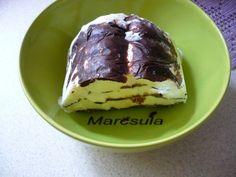 Vienetta  jégkrém házilag Pudding, Ethnic Recipes, Food, Gastronomia, Custard Pudding, Essen, Puddings, Meals, Yemek