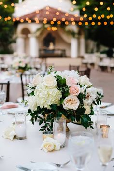 Roxanne and Daniel's Rancho Las Lomas  wedding was a simple blush and white garden inspired affair. The grounds at Rancho Las Lomas are alr...