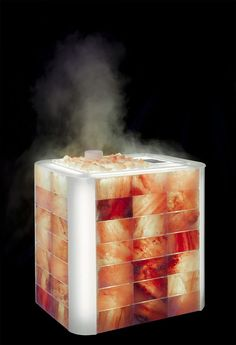 Himalayan Cube - Create a salt room in a very simple way Massage Room Decor, Massage Therapy Rooms, Saunas, Salt Room Therapy, Himalayan Salt Cave, Sauna Design, Spa Rooms, Steam Room, Salt
