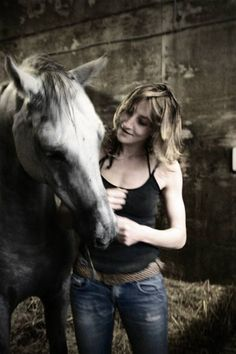 Horse whispering with Dazzler