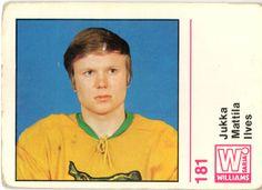 Jääkiekko 71-72 -keräilysarja - 181 Mattila