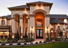 lavish luxury luxurious luxury homes luxury houses luxury house houses House mansion villa the cribs Dream Home Design, My Dream Home, Dream Big, Dream Mansion, Luxury Homes Dream Houses, Dream Homes, Luxury Cottages, Dream House Exterior, Luxury Homes Exterior