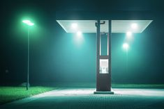 Photographer Andreas Levers Captures the Hazy Glow of Unpopulated Streets at Night   Colossal Night Time Photography, Urban Photography, Street Photography, Photography Series, Amazing Photography, Alternative Photography, Documentary Photography, Photography Ideas, Photomontage