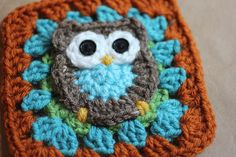 Guest Post: Repeat Crafter Me — Owl Granny Square Pattern - Petals to Picots