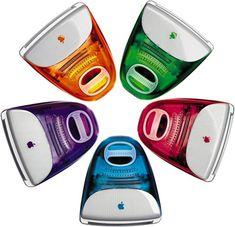 L'iMac, sorti en 1998. DR