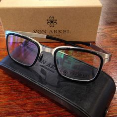Von Arkel is the ultimate in luxury and cool! Come and check out our brand new line!! #glasses #luxury #optometry #sgf #417 #springfieldmo