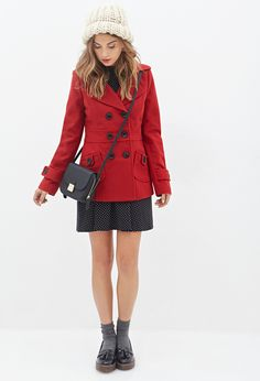 Jacket with skirt.