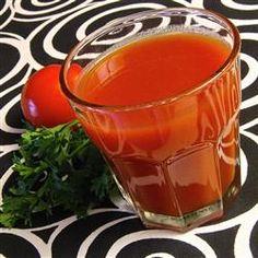 Homemade Tomato Juice Cocktail Allrecipes.com