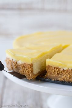 Lemon Cheesecake | Taste and Tell