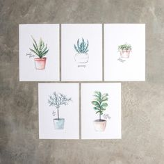 All that talk of plants a few weeks agogot us feeling inspired! Download these free plant printables below! Each one was individually hand-painted and lettered by one of our very own amazing artists. You'll even spot a few of the...