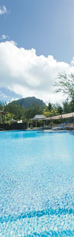 Pool in Morne Brabant - Riu Le Morne - Mauritius Island - All Inclusive - spectacular views