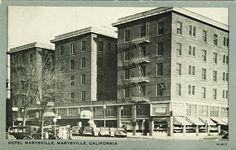 Marysville Ca Hotel California 1930s Flickr Photo