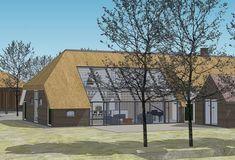 Nationaler monumentaler Bauernhof (privat), Ouderkerk a / d Amstel Farmhouse Renovation, Passive House, Modern Barn, Property Development, House Built, Modular Homes, Built Environment, Types Of Houses, Architecture Details