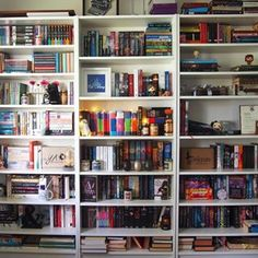 Guys, how great are bookshelves? | 24 Bookshelves That Will Mildly Arouse Any Book Lover