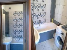 Rekonstrukce panelákové koupelny za 14 dní | Žijeme naplno Bathtub, Bathroom, Standing Bath, Washroom, Bathtubs, Bath Tube, Full Bath, Bath, Bathrooms