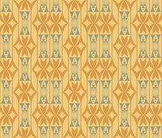 Diamonds, Columns and Deco fabric by chris_jorge on Spoonflower - custom fabric