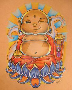 Baby Buddha by RubyCherryShop