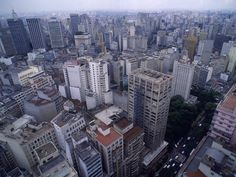 Sao Paulo, Brazil -- been there.  It is a massive city.