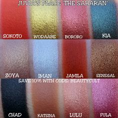 Juvia's Place newest palette, THE SAHARAN, will be released on Monday January 30. It will retail for $28 but if you'd like, you can use our affiliate code: BEAUTYCULT to save 10% b…
