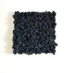 Get your home decor out of the ordinary with this midnight blue moss frame!