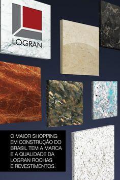 Lâmina RioMar.  A equipe na A+ não cria apenas para o consumidor final. A estratégia deste material foi apresentar a LOGRAN para os lojistas do Shopping RioMar.
