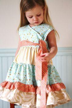 pretty fabrics  little girl dress