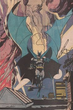 Batman pin-up by Neal Adams