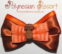 Polynesian Resort Hair Bow