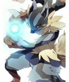 Licario, one of my favorite all time pokemon.