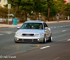 Audi S4 stanced Audi A4 2008, Street Racing Cars, Vw Classic, Audi S5, Rims For Cars, Drag Racing, F1 Racing, Bmw E30, Audi Cars