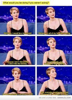 If Jen Wasn't An Actress