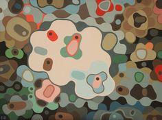 "Saatchi Art Artist Elohim Sanchez; Painting, ""Life Form VI"" #art"