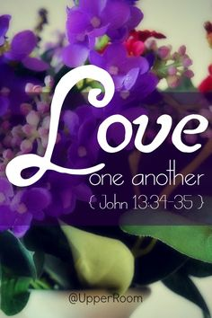 A new command I give you: Love one another. As I have loved you, so you must love one another. By this everyone will know that you are my disciples, if you love one another. Biblical Quotes, Bible Verses Quotes, Encouragement Quotes, Bible Scriptures, Scripture Verses, Love The Lord, Gods Love, John 13 34, Love Joy Peace