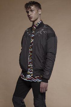 My Booker Management Agency - Phillip Du Plessis - model and talent portfolios Bomber Jacket, Menswear, Mens Fashion, Instagram Posts, Model, Jackets, Editorial, Management, Style