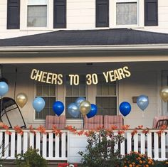 New Birthday Surprise Party Ideas 30 Years Ideas 60th Anniversary Parties, Pearl Anniversary, 35th Wedding Anniversary, Anniversary Party Decorations, Anniversary Surprise, 60 Wedding Anniversary, Anniversary Banner, Surprise Party Decorations, Company Anniversary