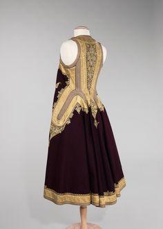 Coat, Date: first quarter 20th century Culture: Albanian Medium: wool, metal, silk, cotton | THE MET