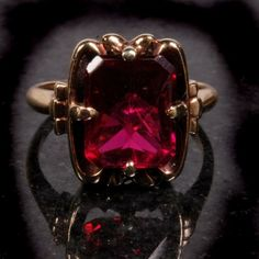 Image detail for -Quite possibly, one of the most beautiful antique ruby rings I have seen ... by alexandria