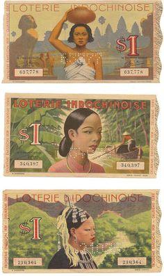 Saigoneer   Exploring Saigon and Beyond - [Photos]: Vintage Vietnamese Lottery Tickets Are Works Of Art