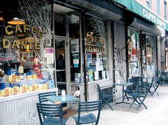 The Old CAFFE DANTE  https://coffeeandny.blogspot.com/  #greenwichvillage  #newyorkcity  #CafeDANTE https://coffeeandny.blogspot.com/