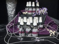 Bridal Shower Favor 2 oz Linen/Room Spray by BreezewoodLake, $2.25  Good for hotel baskets