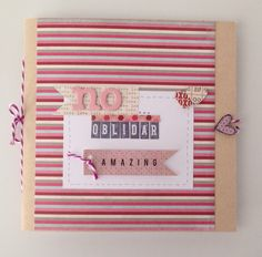 Libreta handmade scrapbook
