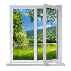 vinilos decorativos de adhesivos de vinilo para ventanas de paisajes en otoño