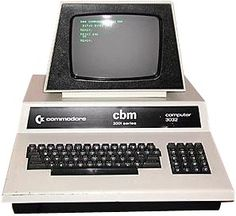 Commodore Pet 30xx -- the very first computer my dad owned in 1979.