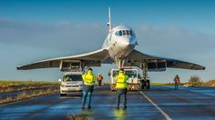 A Concorde gets a new home - Video - CNET