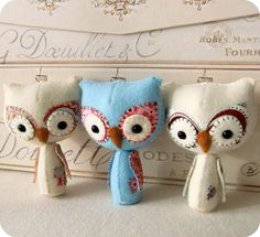 Woodland Owl PDF Pattern by Gingermelon on Etsy, $5.50