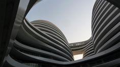 The 'Galaxy Soho' building in Beijing, China. by the great Zaha Hadid.