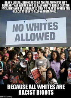 Sickening, pathetic racists! We are going back in time.  How far? Blacks at the back of the bus? Blacks don't vote?  obama's Legacy ⏏